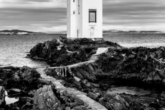 Carraig Fhada Lighthouse in Mono - Gavin Liddle