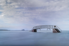 Bridge to Nowhere, Belhaven Bay, Dunbar by Maggie Ingram
