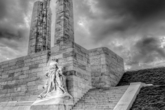 Canadian Memorial at Vimy Ridge by Bill Hume