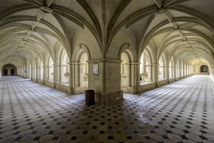 Fontevraud-Cloisters by Bill Hume