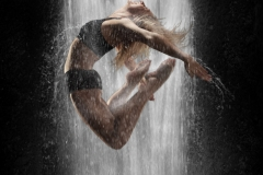 8. Waterfall dancer