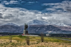 Commando Monument and Ben Nevis, Spean Bridge Photo by Alex McSorley