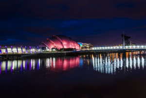 Armadillo reflections Photo by Alex McSorley Published in Scotsman newspaper on 26th January