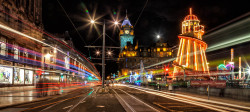 Princes Street Night